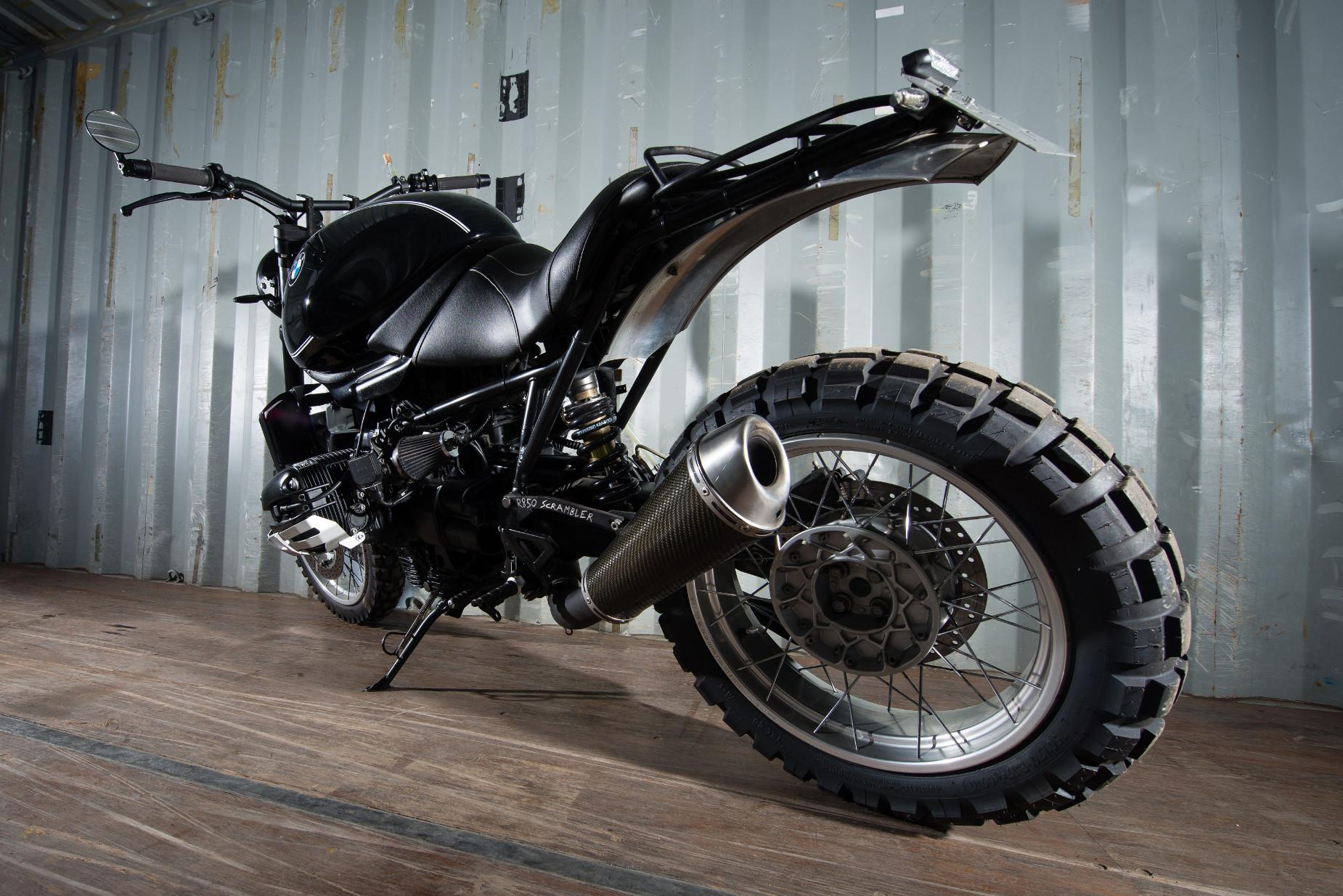 BMW r850r sc... Ducati Scrambler Youtube