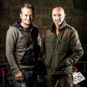 Barn Built Bikes Sven & Derek