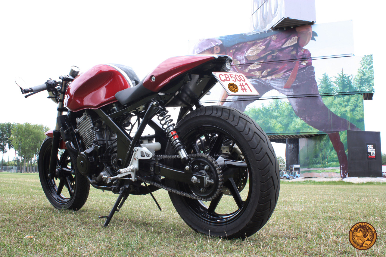 Honda Cb500 Caf 233 Racer By Barn Built Bikes