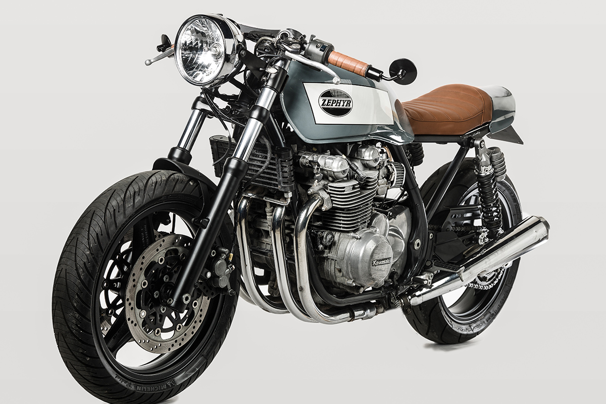 kawasaki zephyr 750 cafe racer barn built bikes. Black Bedroom Furniture Sets. Home Design Ideas